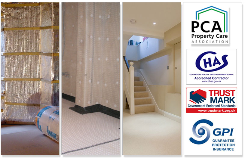 Tanking and Basement Waterproofing Surveys Plymouth Devon | Tanking and Basement Waterproofing Surveys Cornwall | Basement Tanking Surveys Plymouth Devon and Cornwall